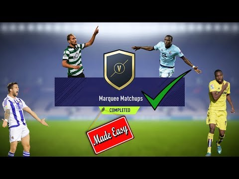 FIFA 18 Marquee Matchups Made Easy!     Jan. 23     We Pack Two In Forms!