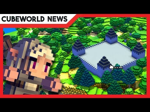 CUBE WORLD NEWS:  Bessere LEISTUNG | Weltgenerierung | Minimap