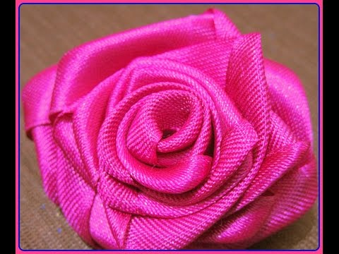 How to make Beautiful handmade flower with lace in 2 min DIY