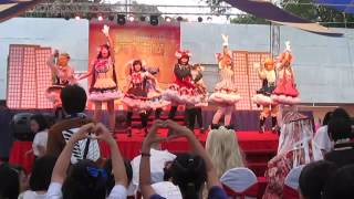 clip events, non-business Tiara Team performance Lovelive! Shool Idol Project [ 1, 2, Jump! + START:DASH!! ]