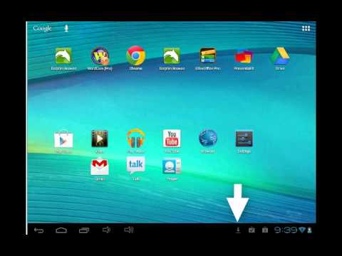 Android Tablet: Downloading and Updating Apps