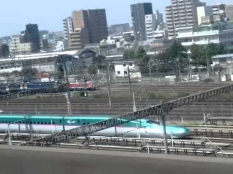 Tokyo Station to Nagano on Shinkansen (Bullet train)