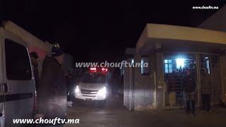 فيديو لحظة نقل جثة الضابط اللي مات بسكتة قلبية من مستشفى سيدي عثمان إلى مصلحة الطب الشرعي بالرحمة