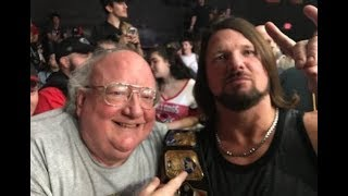 AJ styles returns to indy wrestling for NWA wildside Reunion. (2017)
