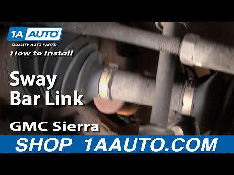 How To Install Replace Stabilizer Bar Link Chevy Silverado GMC Sierra 99-06 1AAuto.com