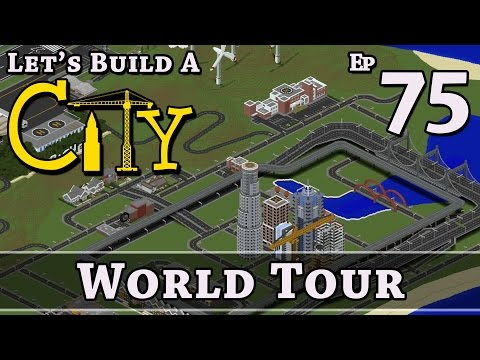 How To Build A City :: Minecraft :: World Tour :: E75 :: Z One N Only