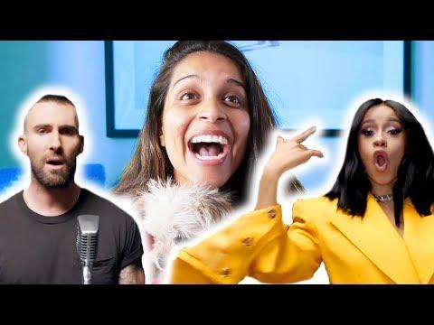 I WAS IN ADAM LEVINE & CARDI B'S NEW MUSIC VIDEO!