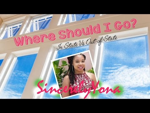 Where Should I Attend College? | In State Vs Out-of-State