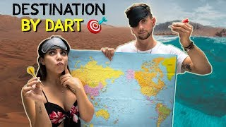 Download Throwing a Dart at a Map and Traveling WHEREVER it Lands Video