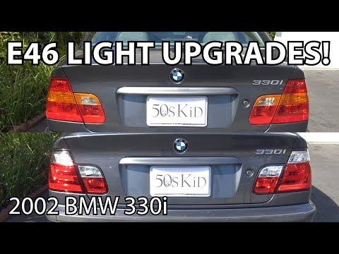 BMW E46 Tail Light & Turn Signal Light Upgrades!