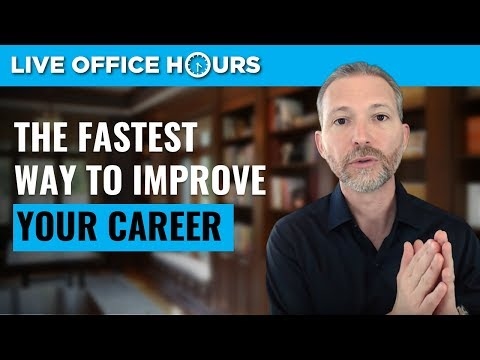 The Fastest Way to Improve Your Career: Live Office Hours: Andrew LaCivita