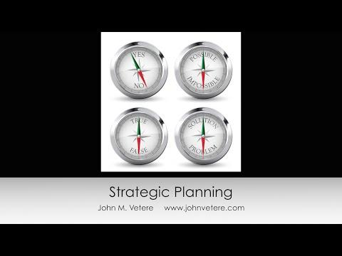 Roadmap for Strategic Planning