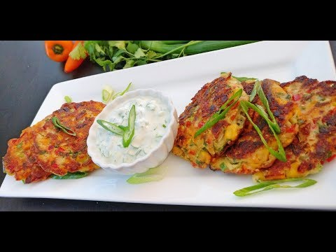 Sweetcorn Fritters | How to make Corn Fritters by FrolicFlavors