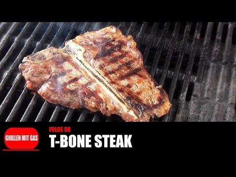 [Grillen mit Gas] #098 - T-Bone Steak [Rezepte für Q100-Gasgrill-Q1200-Q2200-Q3200-Baby-Q]]