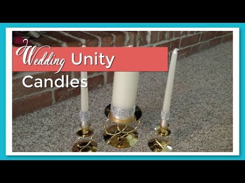 Wedding Series: Unity Candles DIY