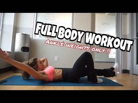 Holiday Home Workout | Full Body Burn | Holiday Vlog #5