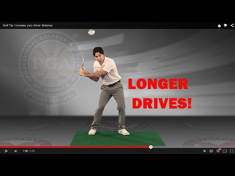Golf Swing More Distance: Hit the Driver Longer