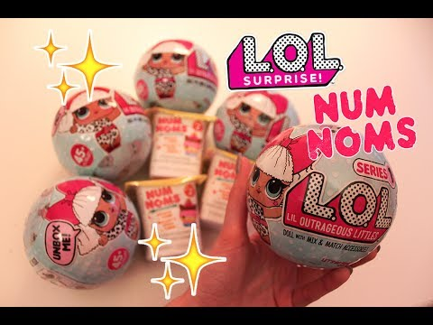 Blindbox for Relaxation- LOL 7-Layer Surprise Dolls and Num Noms! (ASMR soft spoken)