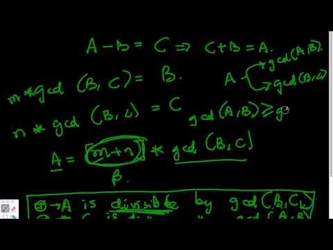 How to prove the Euclid's Algorithm - GCD