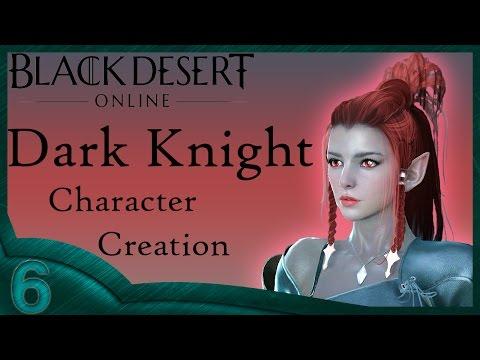 Black Dessert Online - Dark Knight Character Creation