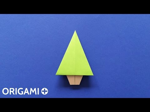 Origami Christmas Tree (Traditional model)