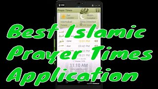 Prayer Times And Qibla 2017 Android Islamic application | urdu