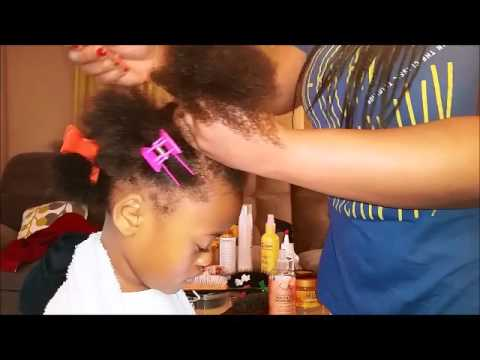 Kids easy natural hairstyles #2