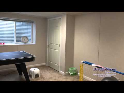 Finished Basement Family Room in Spokane, WA | Case Study