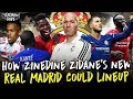 How Will Zidane Set Up Real Madrid Starting XI Formation Transfers