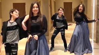 Jannat Zubair CUTE Dance With Brother Ayaan Zubair Latest Video