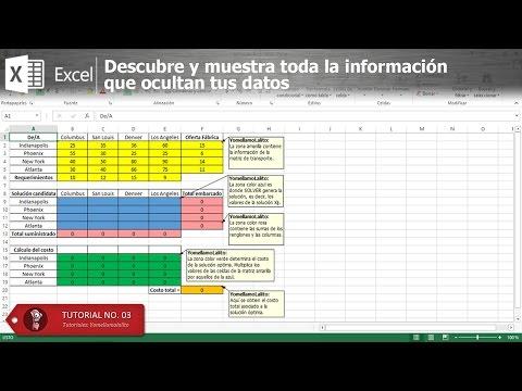Solver en Excel 2013