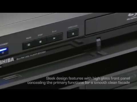 Toshiba Blu-ray BDX2000