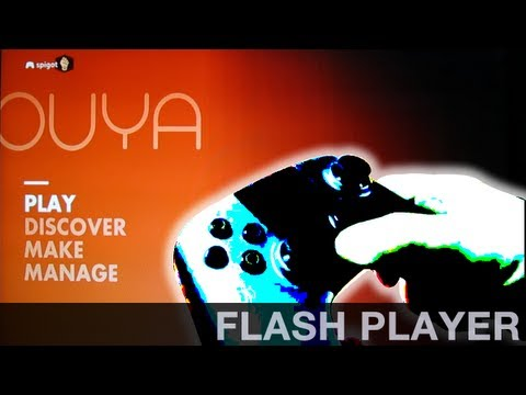 How to Install Flash Player on the OUYA (Android 4.1 build)