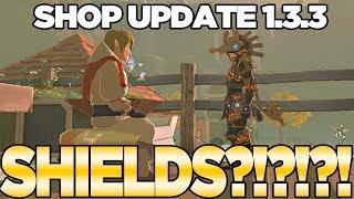 Shop Update 1.3.3... Where
