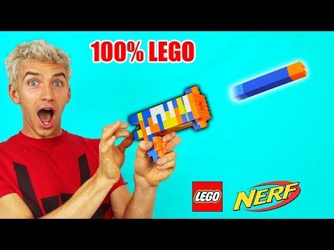 LEGO NERF GUN!!