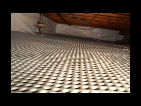 nj crawl space vapor barrier and encapsulation