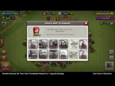 Town Hall Level 6 (TH6) Base MAXED OUT Completely Upgrade Strategy for Clash of Clans