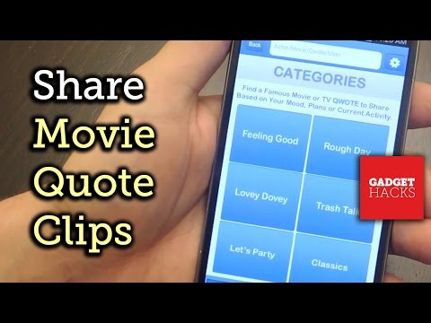 Share Clips of Your Favorite Movie Quotes with Qwotes for Android & iOS [How-To]