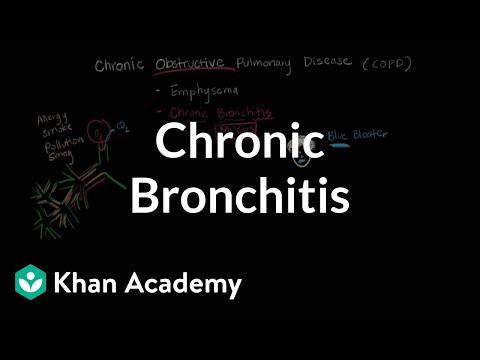 What is chronic bronchitis? | Respiratory system diseases | NCLEX-RN | Khan Academy