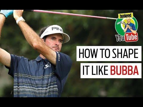 How to shape the golf ball like Bubba Watson