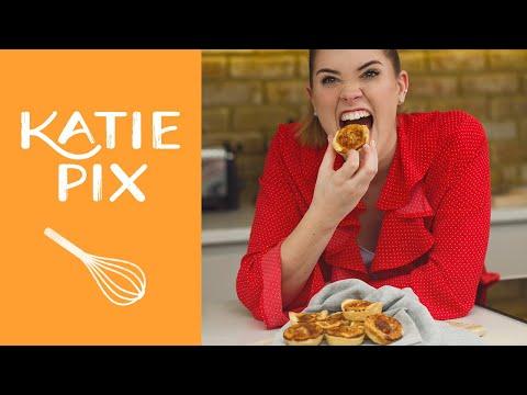Mini Picnic Quiche Lorraine Recipe | Katie Pix