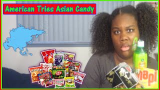 American Tries Asian Candy