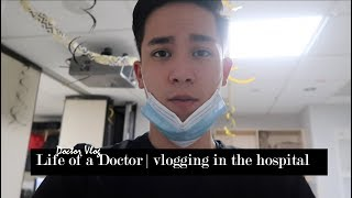 A Day in the Life of a Doctor | vlogging in the hospital