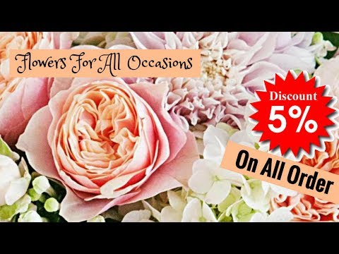 Looking for fresh flowers in East London? Use our flower delivery East London service