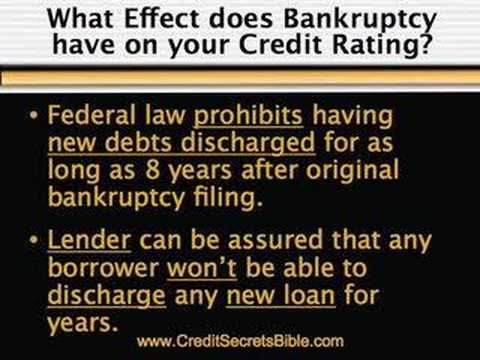 FORECLOSURE and BANKRUPTCY: info from the Credit Secrets Bible