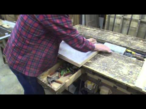 DIY Wood Edge Laminate Countertops