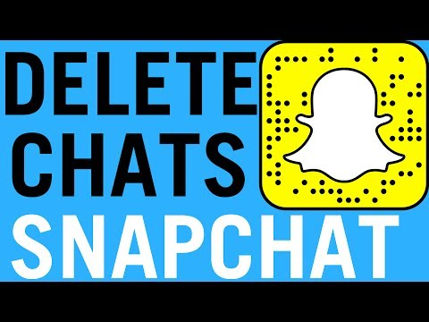 SnapChat: How To Delete Chats