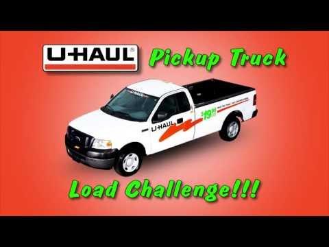 U-Haul Pickup Truck Load Challenge