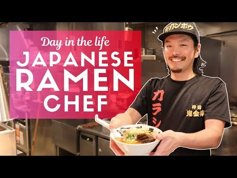 Day in the Life of a Japanese Ramen Chef