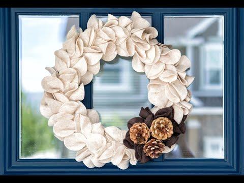 DIY Wreath Making | Fall Wreath Craft | Apostrophe S | Ruffled Harvest